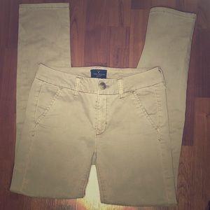 AE Khaki Skinny Chino Pants